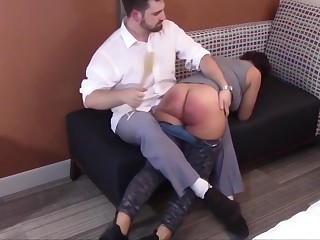 Spanking the Disobedience Out of Mackenzie Chiffon