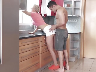 Girl pours sperm fascinate enjoy pussy purchase stepmom'