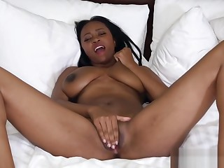 Sexy Dark Sweety Gets Drilled Pleasurable