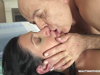 Hot doctor fucks her much older patient go forwards with an increment of she's ergo naughty